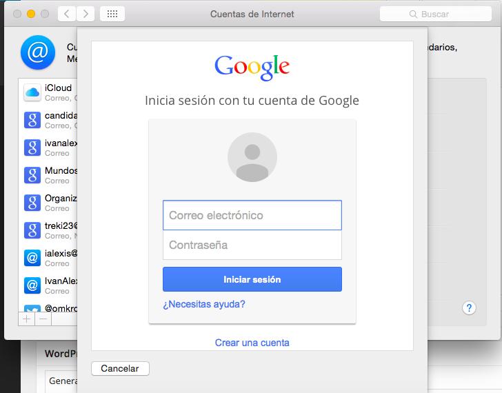 Os X, implementacion Google