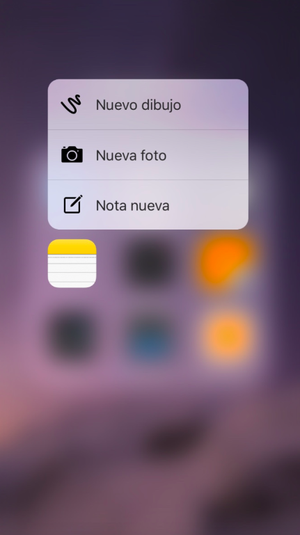 3D Touch - Notas