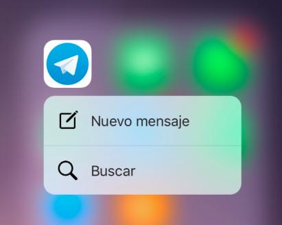 3D Touch - Telegram