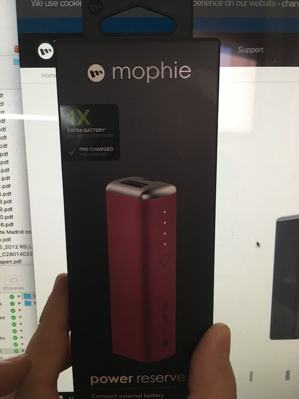 Bateria Mophie